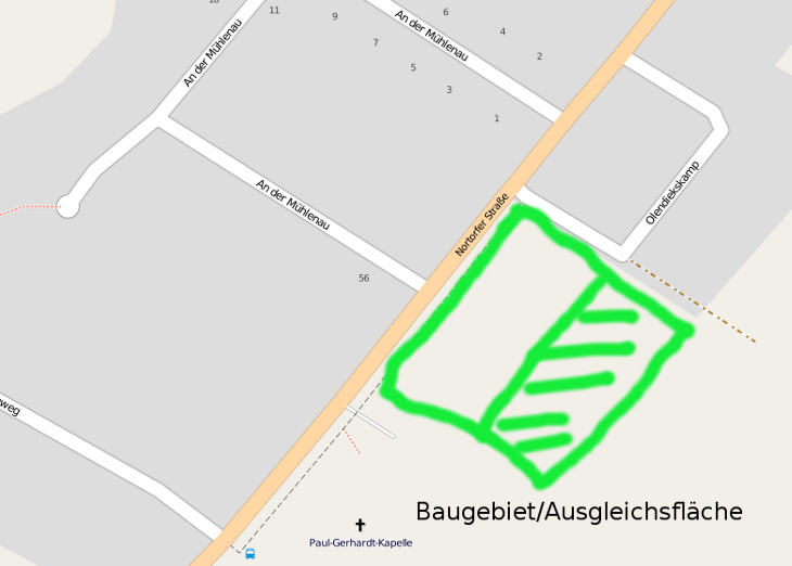Baugebiet an der Nortorfer Strasse
